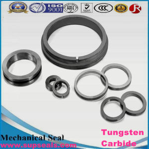 Tungsten Carbide Nickel and Cobalt Bound Cemented Carbide Mechanical Seal Face Tungsten Carbide pictures & photos
