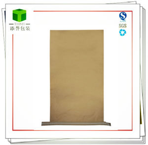 Sewn Open Mouth Kraft Paper Bag Packing Anhydrous Citric Acid pictures & photos