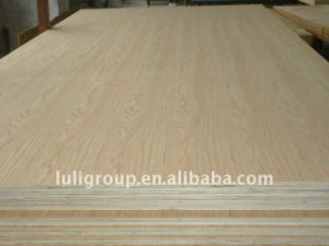 0.5mm Oak Veneer Faced Plywood 16mm, 16mm Oak Plywod pictures & photos