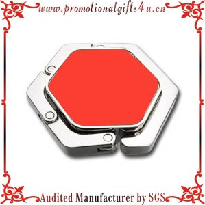 Enamel Hexagon Purse Hook (CX-B-002)