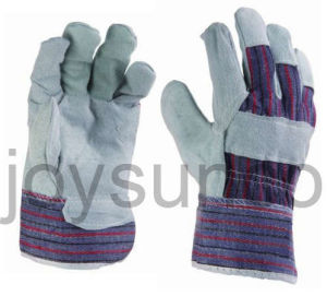 Leather Working Glove Industrial Safety Rigger Gloves (88CBSA)