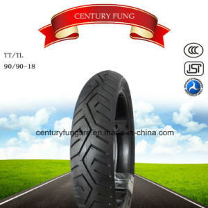 Hot Selling 90/90-18 Motorcycle Tire with Popular Pattern pictures & photos