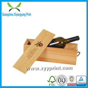 High Quality and Cheap Custom Wooden Wine Box Wholesale pictures & photos