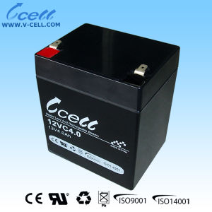 12V 4.0ah Valve Regulated Rechargeable Battery