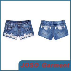 Sexy Girls Denim Shorts (JC6011) pictures & photos