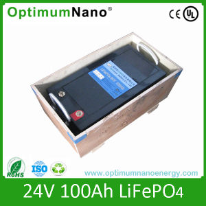 24V 100ah LiFePO4 Battery Packs for Solar System Energy pictures & photos