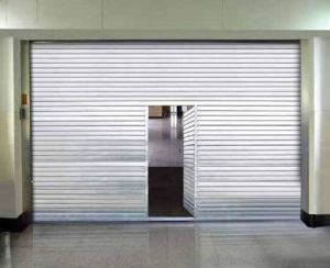 China Fireproof Roller Shutter Door Manufacturer With Fire