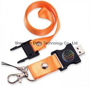 USB Flash drive OEM Logo Ribbon Lanyard USB Stick Memory Card USB Pen drive Flash Disk memory Stick USB Flash Card Thumb Flash Disk pictures & photos