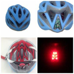 Bicycle Helmet Safety Helmet with LED Light Glovion Bike Bicycle Helmet Funny Helmet Sport Helmet (H-51)