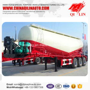 Qilin Widely Used Tare Weight 10 Tons Concrete Powder Transport Tanker Semi Trailer pictures & photos