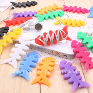 Simple Silicone Cord Winder for Earphone pictures & photos