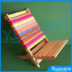 Wooden Outdoor Beach Chair in Folding Chair Sun Lounge pictures & photos