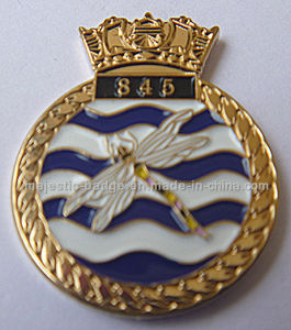 Customize Gold Plating Lapel Pin (MJ-PIN-140) pictures & photos
