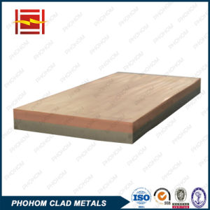 C11000 T2 Copper Q345D Steel Clad Plate by Explosive Welding pictures & photos