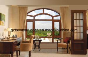 Aluminum Casement Window/Door with Double Glazing pictures & photos