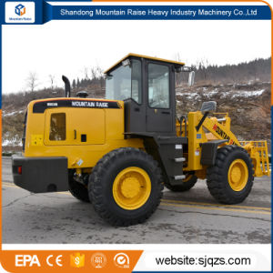 Chinese 3t Big Wheel Loader with Various Attachment pictures & photos