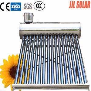 Non Pressurized Stainless Steel Solar Hot Water Heater Heating System (Solar Collector) pictures & photos