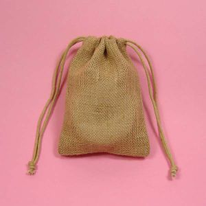 Country Style Flat Jute Gift Bag / Burlap Bag pictures & photos