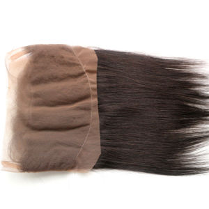 Factory Supply Indian Human Hair Lace Closure Frontal 22.5 X 4 X 2 Silk Straight 360 Lace Frontal pictures & photos