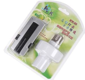 E27 Screw Remote Control Light Lamp Bulb Holder Cap/ E27 Bases LED Light Bulb Socket