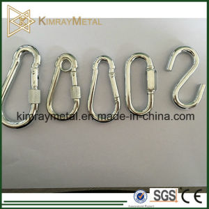 Electro Zinc Plated Spring Snap Hook with Screw pictures & photos