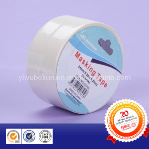 Individual Packed White Masking Paper Tape pictures & photos