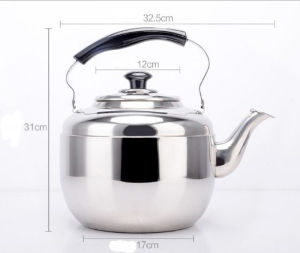 6.8L Stainless Steel Apple Kettle Water Kettle and Teapot (CS-034) pictures & photos