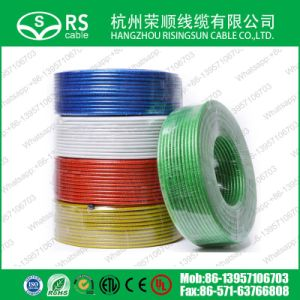 RG6 Transparent Coaxial Cable / HDTV Cable Ce/RoHS
