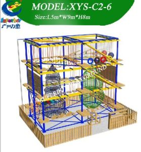 Children Complex Course Sports Playground Rope Course pictures & photos