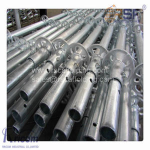 Q345 Steel Layher All Round Ringlock Scaffolding / Construction Scaffolding for Sale pictures & photos