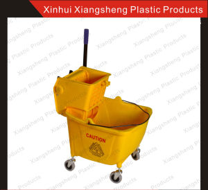 Factory Direct Sale Mop Wringer 32L for Hotel and Restaurant Single Bucket