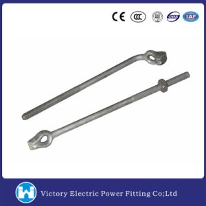 Hot DIP Galvanized Forged Thimble Eye Bolt (G0650-08) for Pole Line Hardware pictures & photos