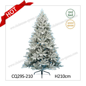 H7FT Artificial Green Plastic Needle Pine Christmas Tree for Home pictures & photos