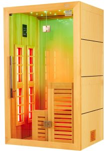 New Fashion Wood Design Luxury Far Infrared Sauna Room with Promotion Price I-012 pictures & photos