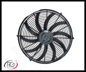 "Auto 16"" AC Fan 12V/24V 80W, Blower / Suck Air Fan, Bent Leaves Fan pictures & photos"