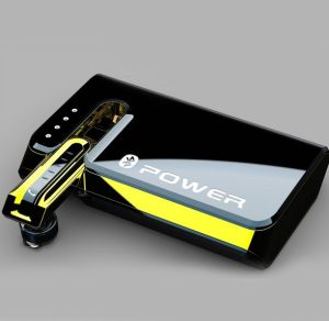 Favorites Compare 2014 Latest Design 2 in 1 Mobile Power Bank with Built in Bluetooth Earphone