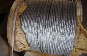 Crane High Strength Galvanized Steel Wire Rope with Steel Core pictures & photos
