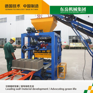 Qt4-24 Small Cement Brick Machine Line pictures & photos