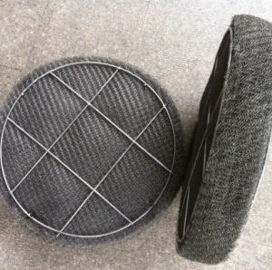 Stainless Steel Knitted Wire Metal Mesh Demister/Demister Pad pictures & photos