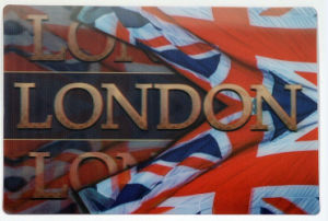 London 3D Lenticular Souvenir Postcards pictures & photos