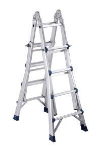 En131 Approved 4*4 Aluminum Little Giant Ladder pictures & photos