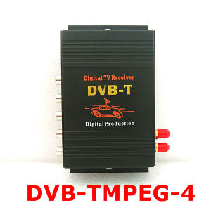 Dual Tuner Mobile Digital TV Receiver Car DVB-T MPEG-4 (M-618)