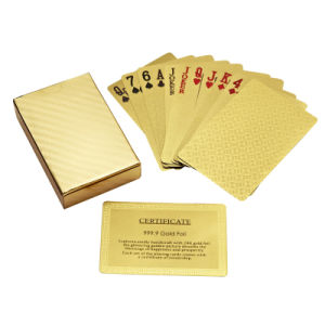 Gold Foil Playing Cards (WD-G001)