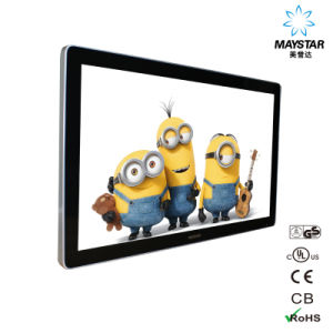 "22"" Advertisement Digital Ad 3G WiFi Wall Hanging LCD Display pictures & photos"