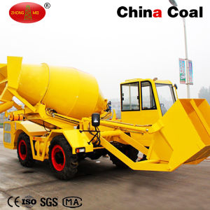 Mini Self Propelled Concrete Mixing Truck pictures & photos