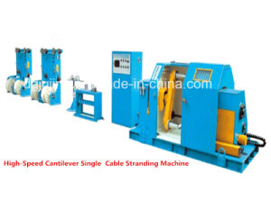 Power Cable Production Machine Cantilever Single Cable Wire Twisting Bunching Machine pictures & photos