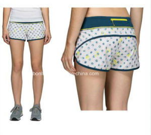 2017 Newest Design Custom Tailor Gym Wear Girls Sexy Running Short pictures & photos