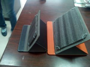 Offering Low Price PU Leather Pad Sleeve, OEM/ODM (C123) pictures & photos