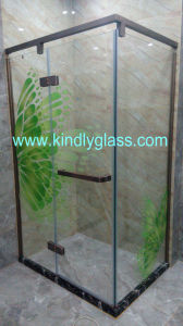 Customized Design Shower Tempered Glass