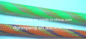 Polyethylene Terephthalate Braided Expandable Cable Protection Heat Resistant Sleeve